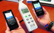 iPhone como sonómetro