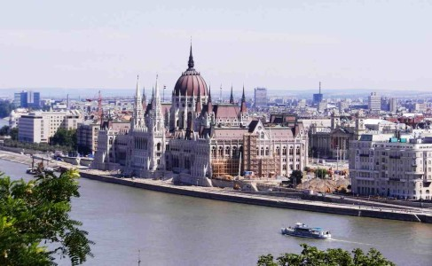 andamio de madera - Budapest