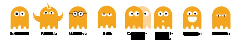 Fantasmas Como Cocos