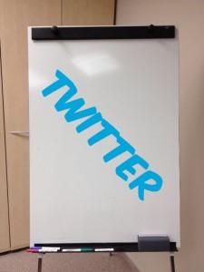 Twitter en la formación