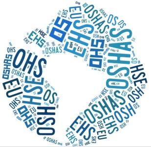 siglas de prevención de riesgos - OSH_cloudtag
