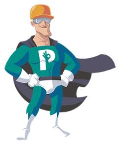 SuperP, el Superman de la Prevención