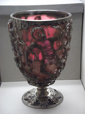 Lycurgus Cup, 4th century Roman nanotechnology