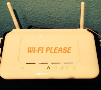 free wifi at work