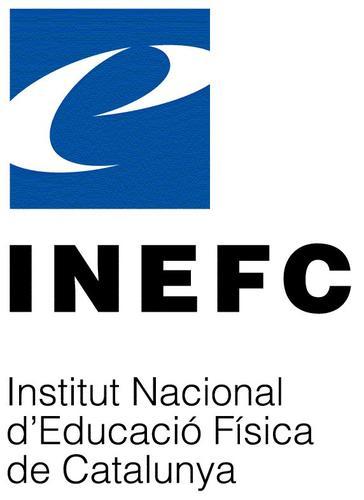 Logo del Instituto Nacional de Educación Física de Cataluña