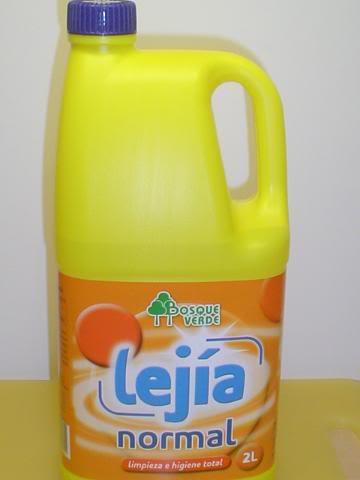 Lejia y cloro es lo mismo