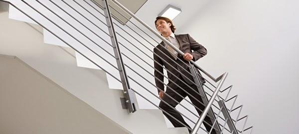 Haz salud aprovecha tu puesto de trabajo para subir for Escaleras de trabajo